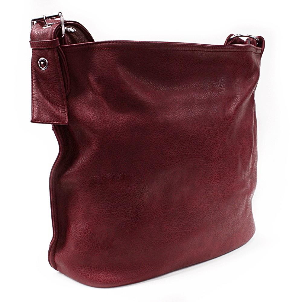 Červená kabelka na rameno Shantelle