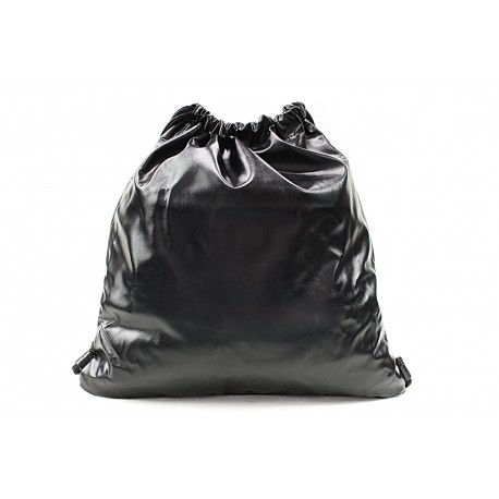 Černý moderní lesklý vak Rowley