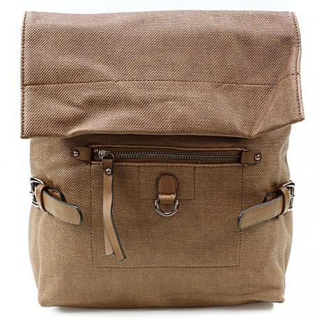 Hnědý stylový dámský batoh Laney
