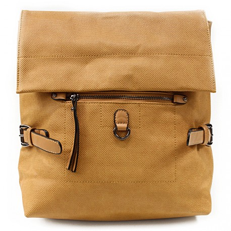 Žlutý stylový dámský batoh Laney