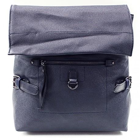 Modrý stylový dámský batoh Laney