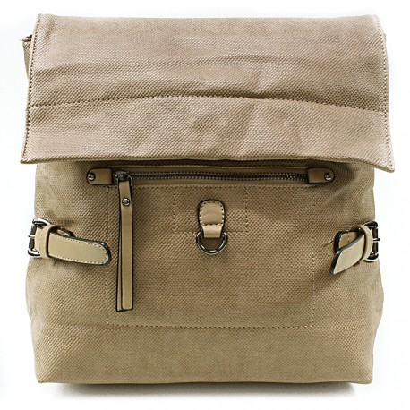Khaki stylový dámský batoh Laney