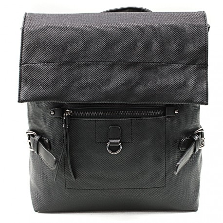 Černý stylový dámský batoh Laney
