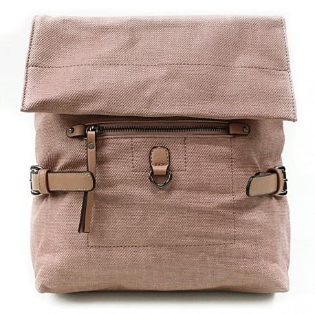 Růžový stylový dámský batoh Laney