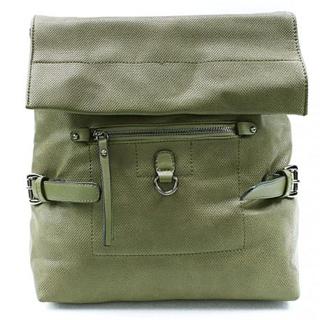 Zelený stylový dámský batoh Laney