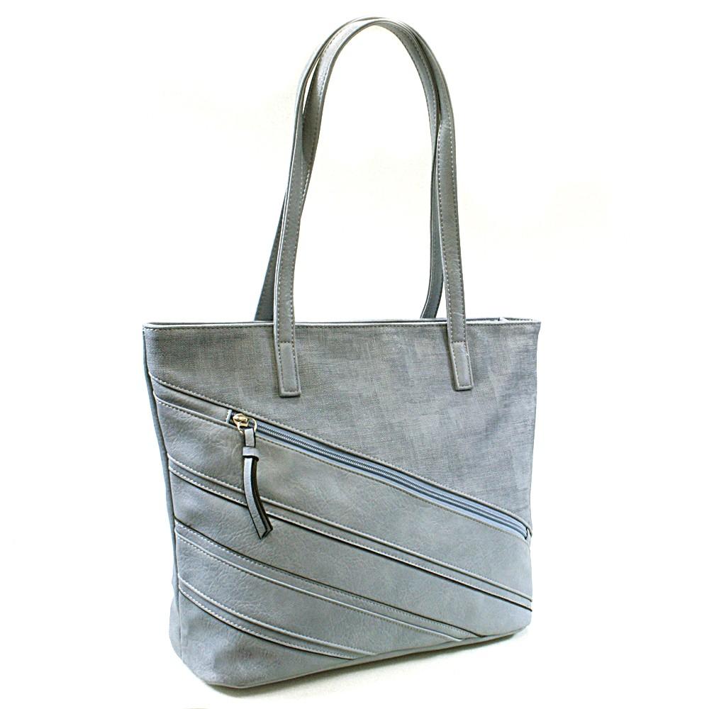 Modrá dámská kabelka přes rameno Zole