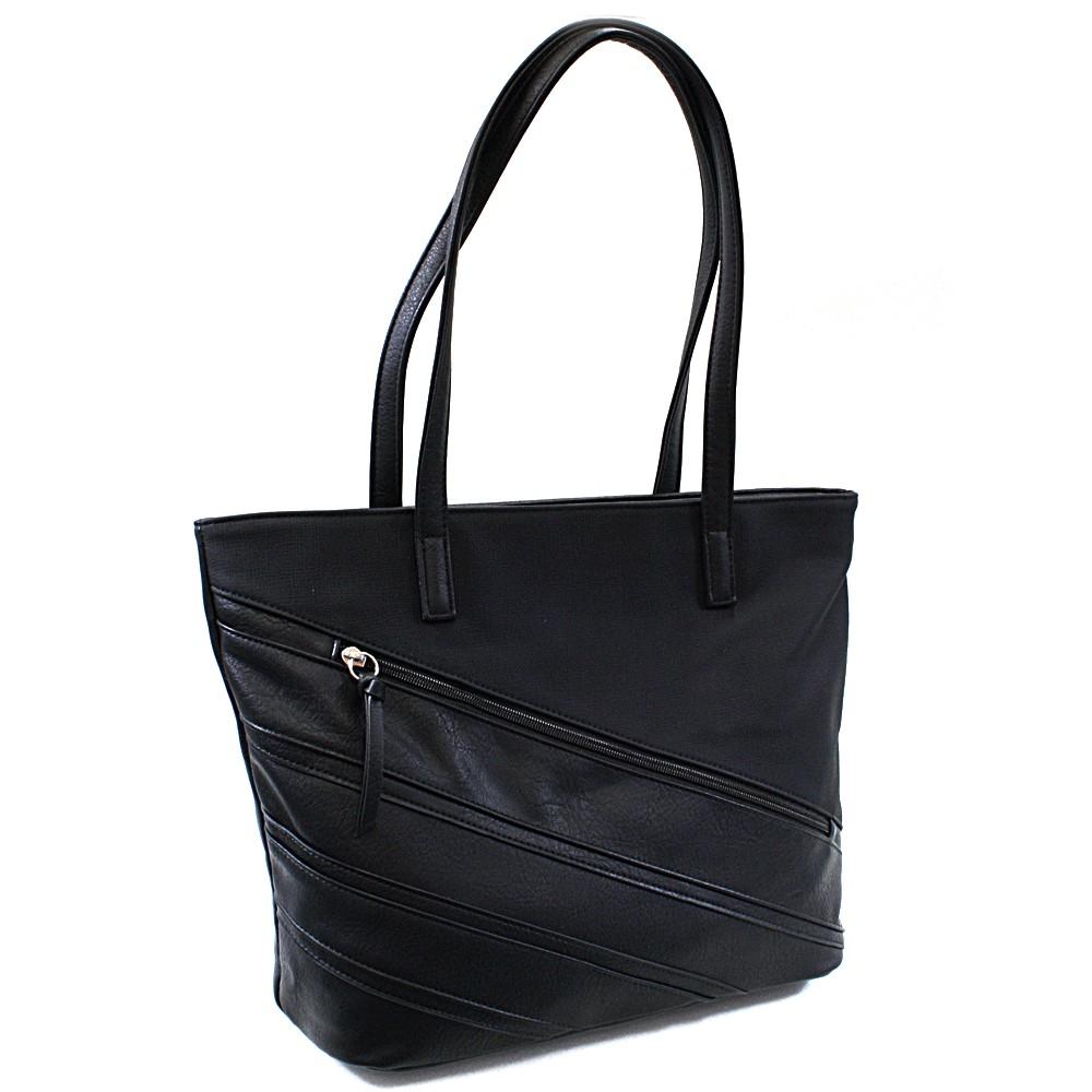 Černá dámská kabelka přes rameno Zole