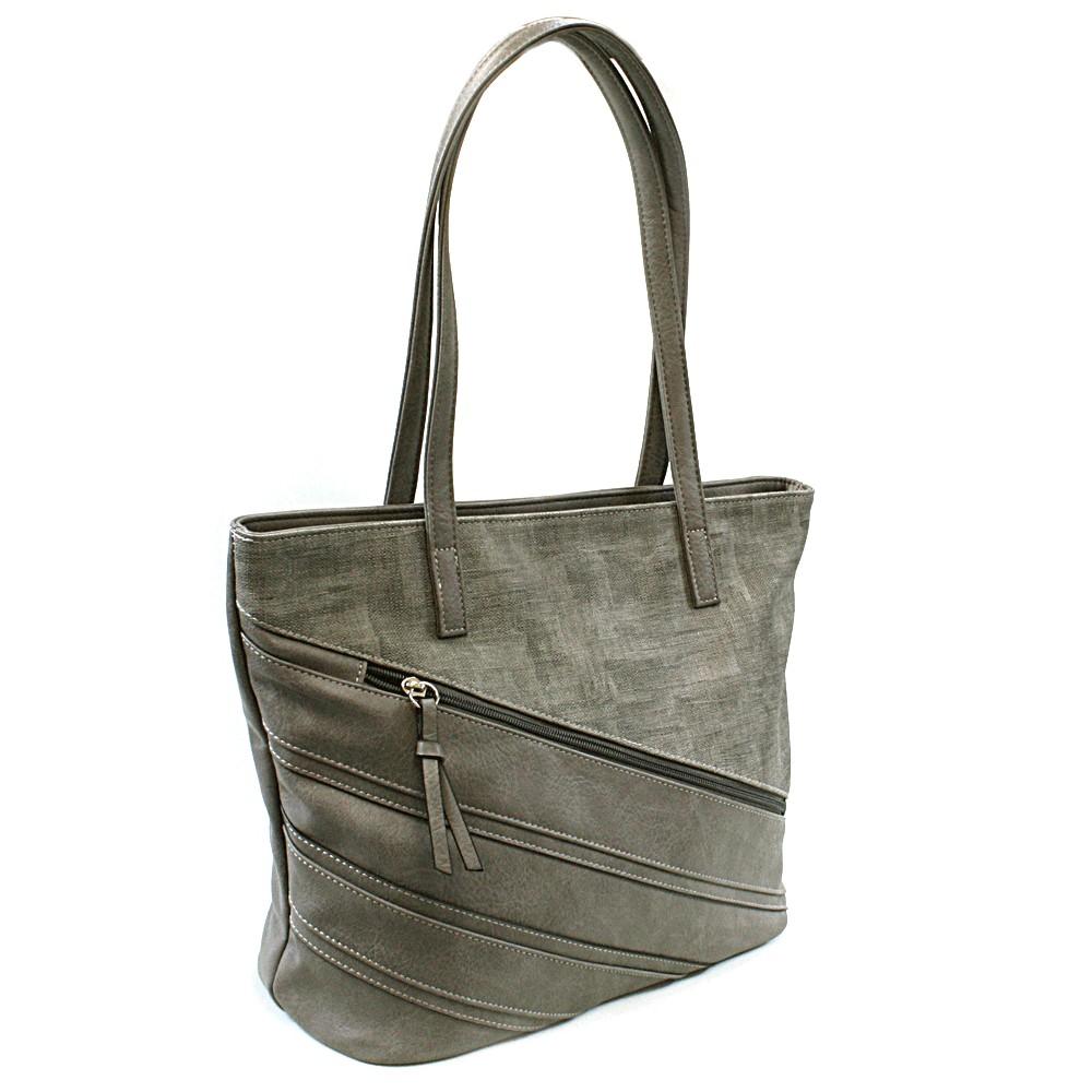 Šedá dámská kabelka přes rameno Zole