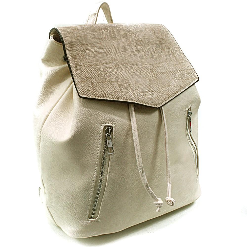Béžový elegantní batoh Renee