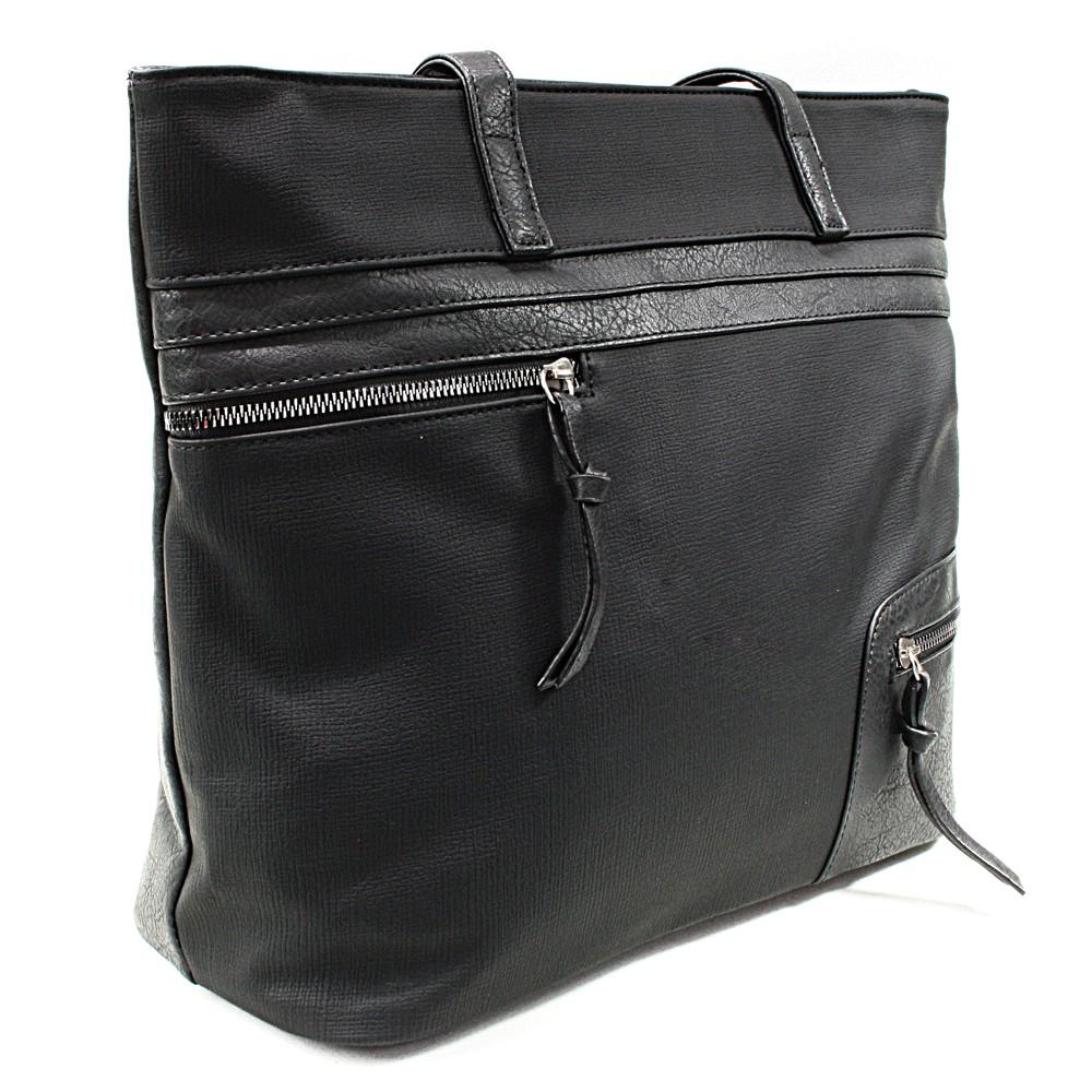 Černá dámská praktická kabelka přes rameno Paige