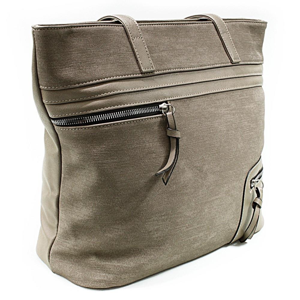 Khaki dámská praktická kabelka přes rameno Paige