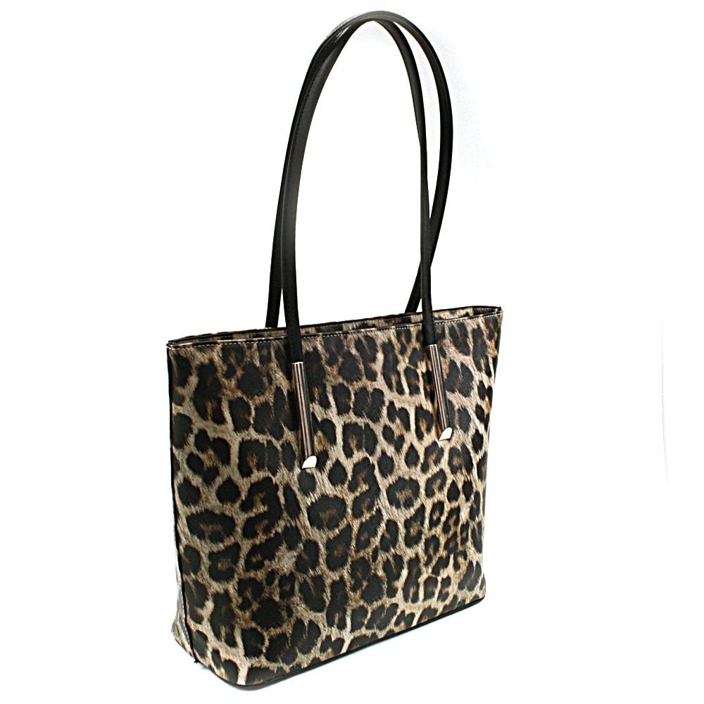 Dámská luxusní kabelka přes rameno s motivem leoparda Taya