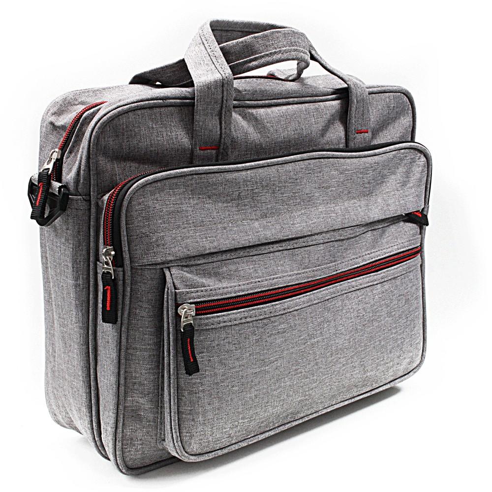 Světle šedá pánská příruční taška Royce