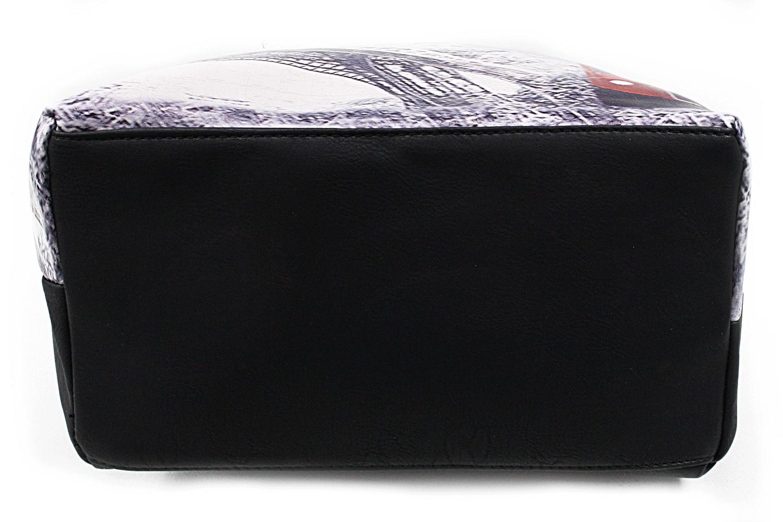 Černá moderní dámská kabelka na rameno Fredda