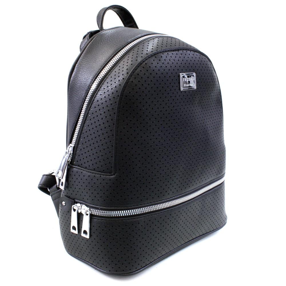 Černý moderní dámský batoh Alick
