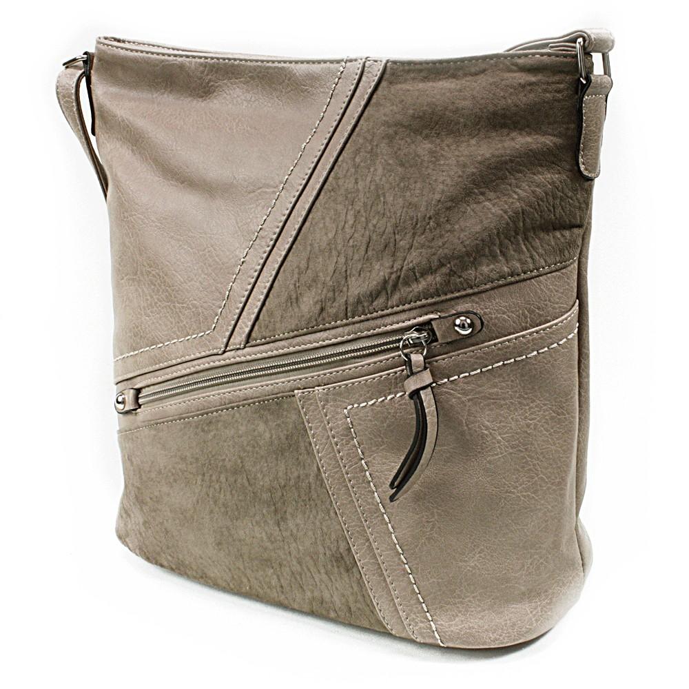 Khaki dámská módní kabelka Norrie