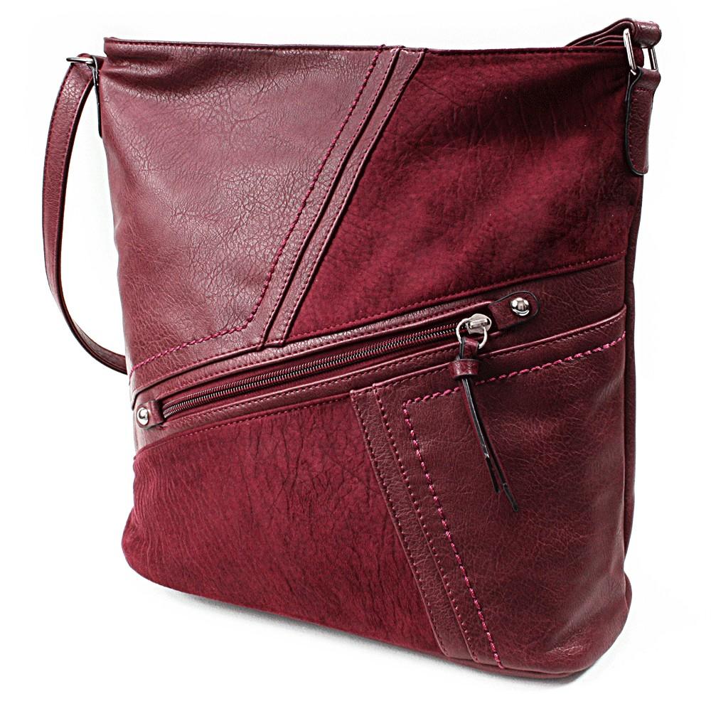 Červená dámská módní kabelka Norrie