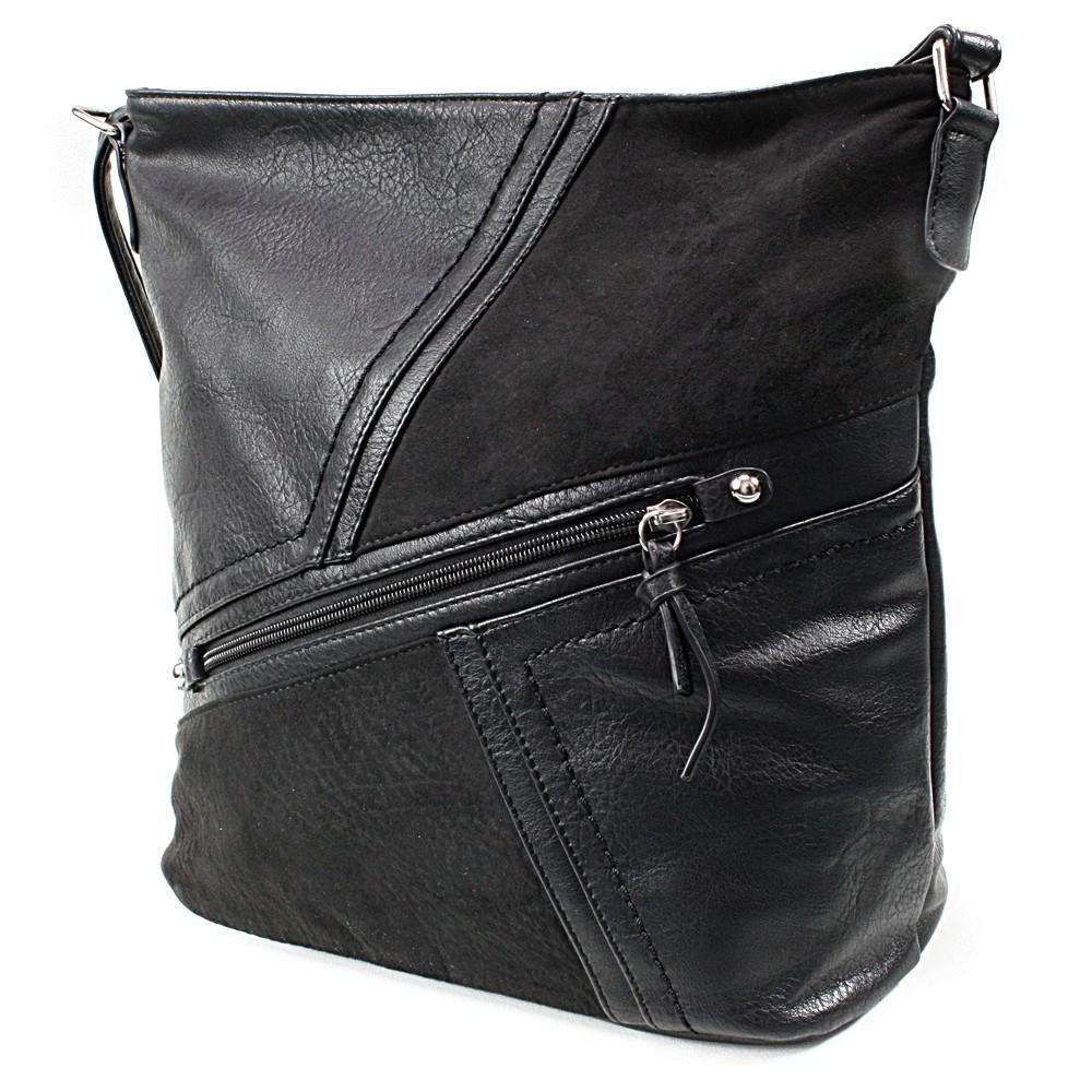 Černá dámská módní kabelka Norrie