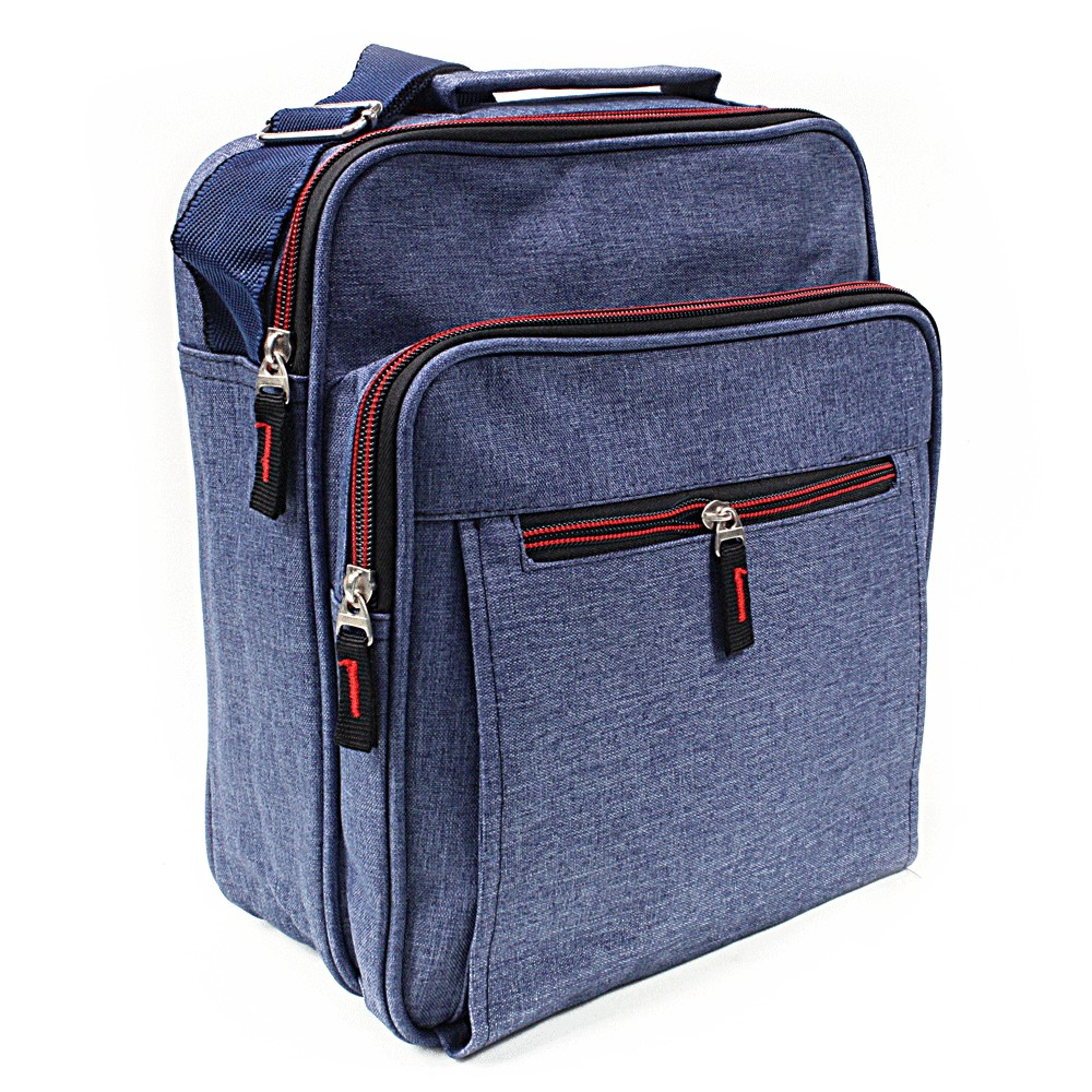 Modrá pánská praktická crossbody taška Brent