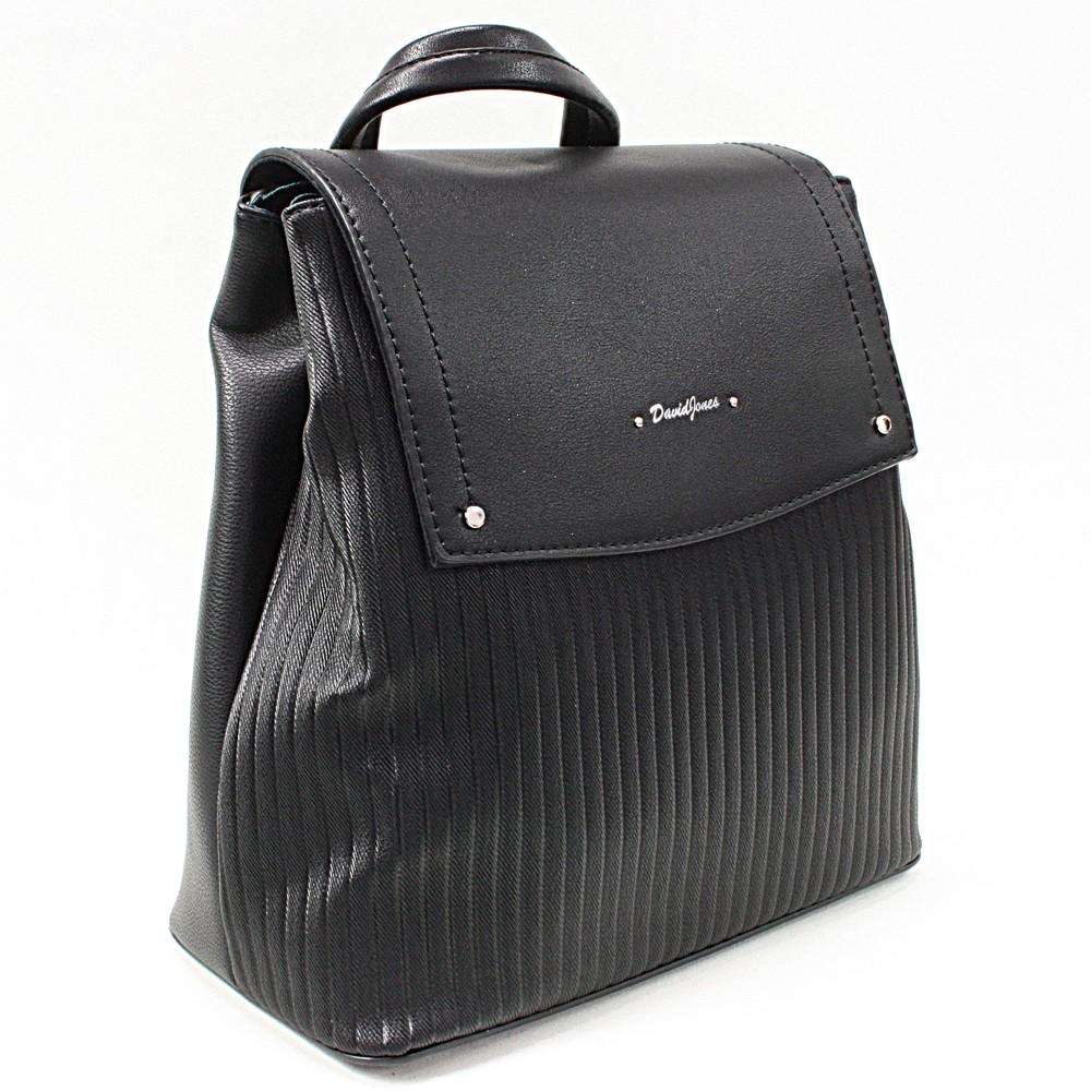Černý elegantní dámský batoh Kalcey