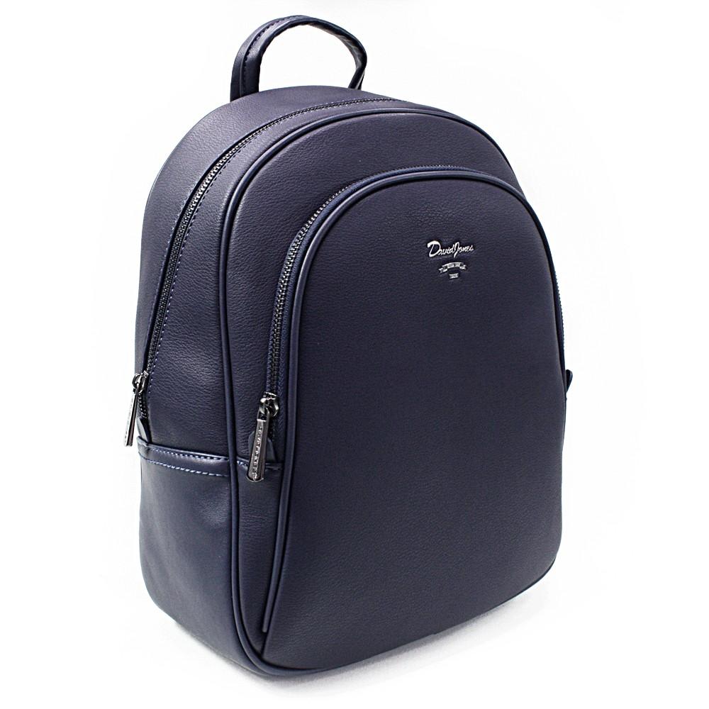 Tmavě modrý elegantní batoh Divina