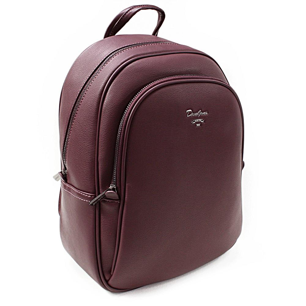 Tmavě červený elegantní batoh Divina