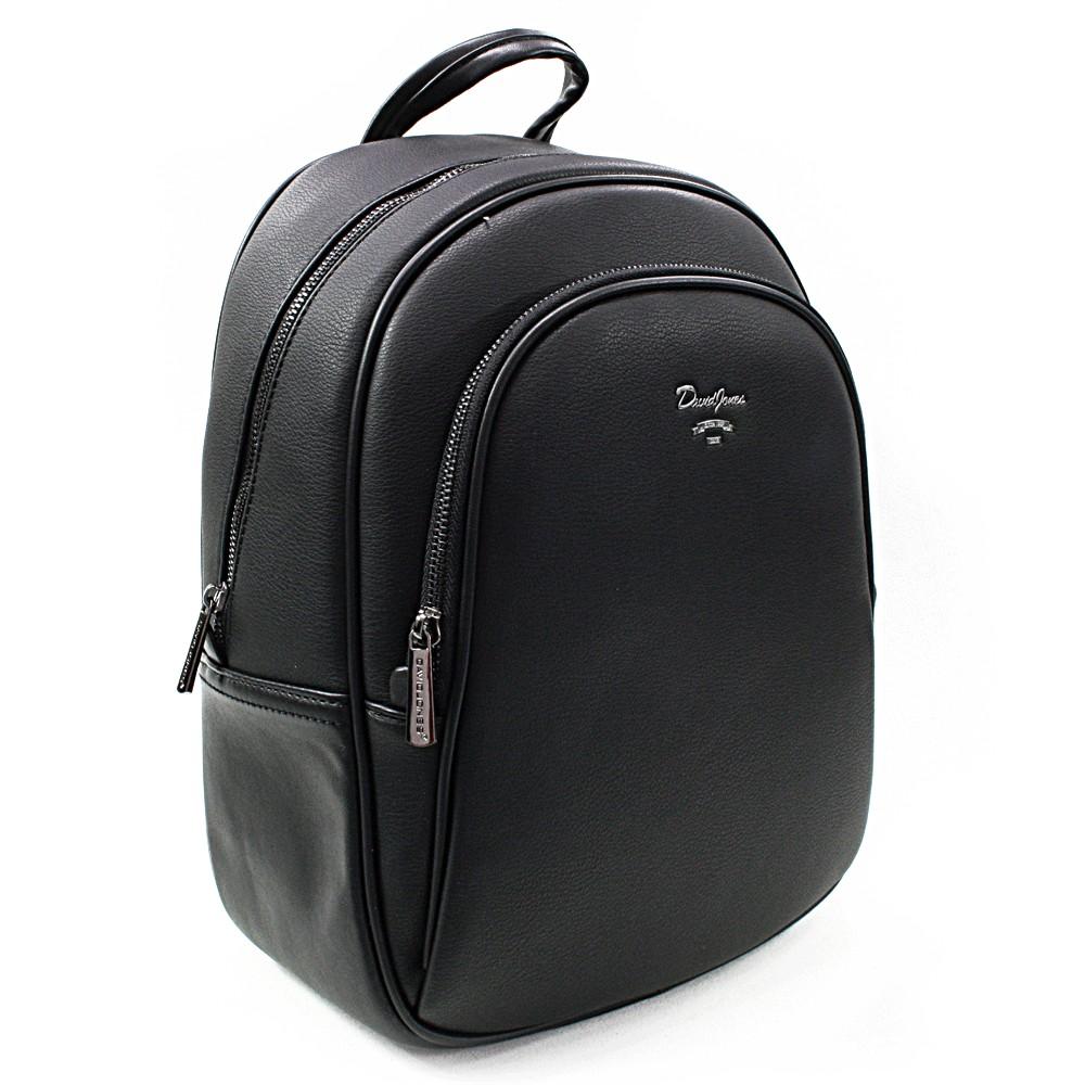 Černý elegantní batoh Divina