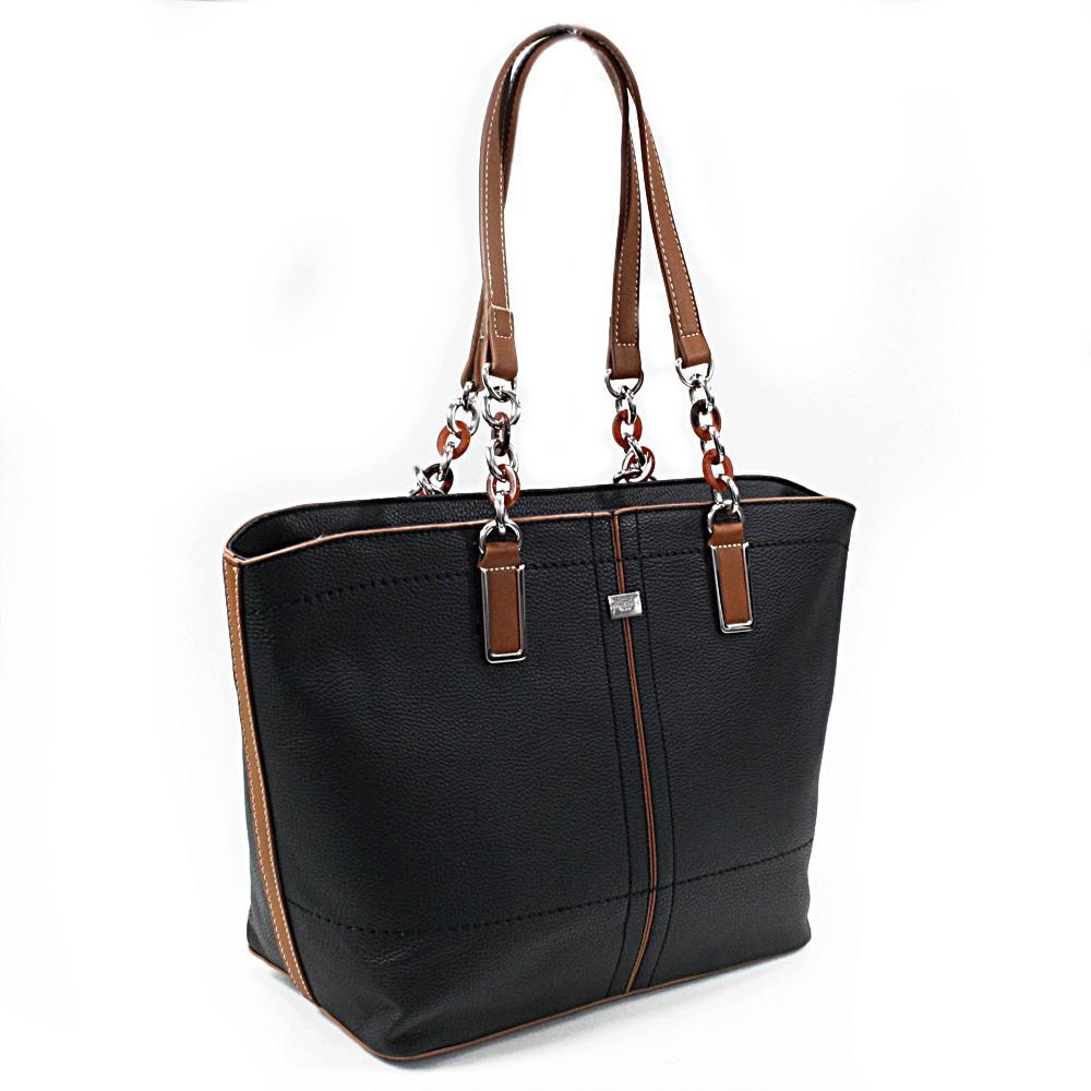 Černá velká dámská kabelka přes rameno Aaliyah