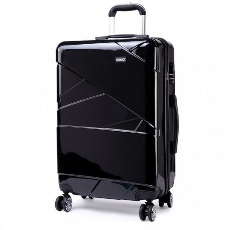 Černý cestovní kvalitní prostorný malý kufr Zion