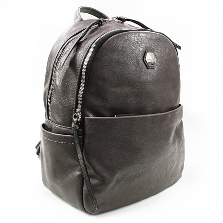Tmavě šedý moderní batoh Ibri