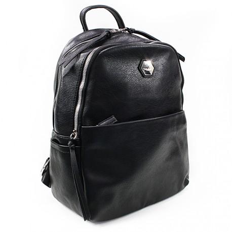Černý moderní batoh Ibri