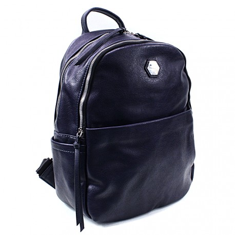 Tmavě modrý moderní batoh Ibri