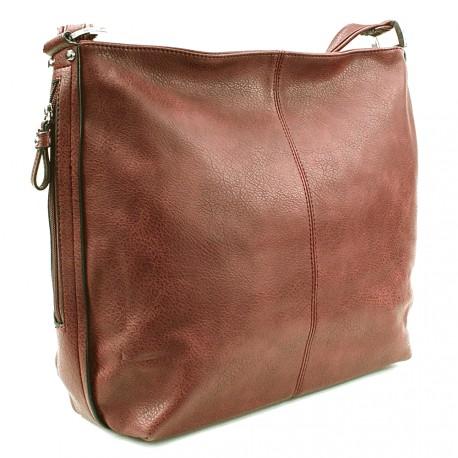 Fialová prostorná kabelka Abbie