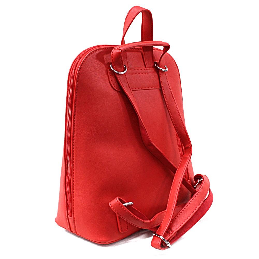 Červený praktický dámský batoh Proten