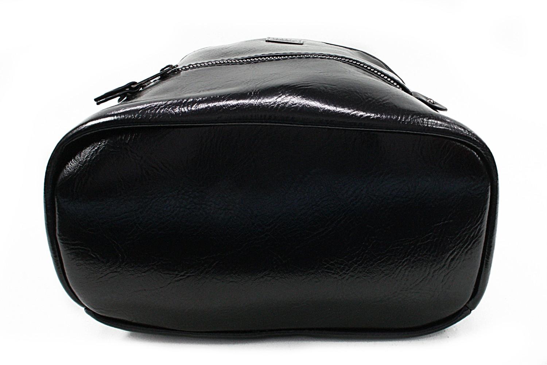 Černý dámský elegantní batoh Lavern