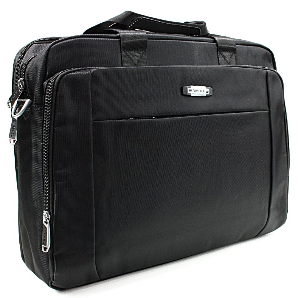 Kvalitní černá pánská taška na notebook Cursa