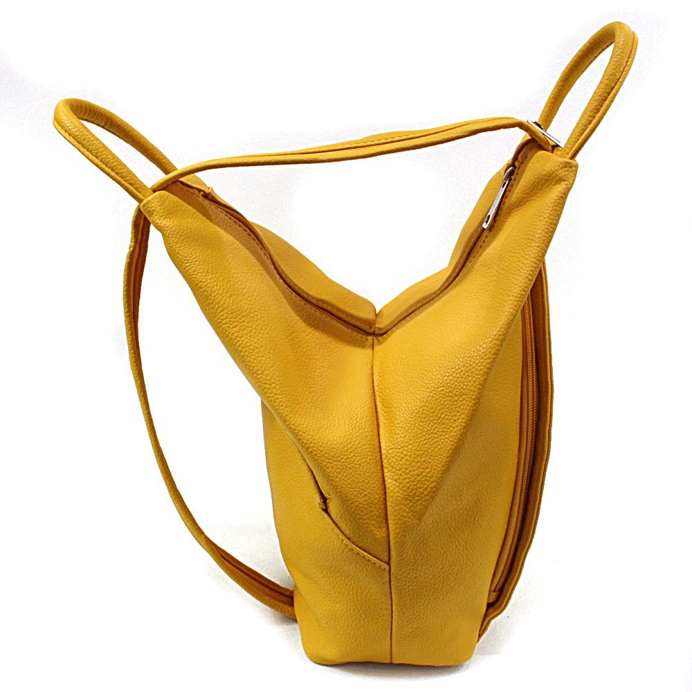 Žlutý moderní dámský batoh Zastien