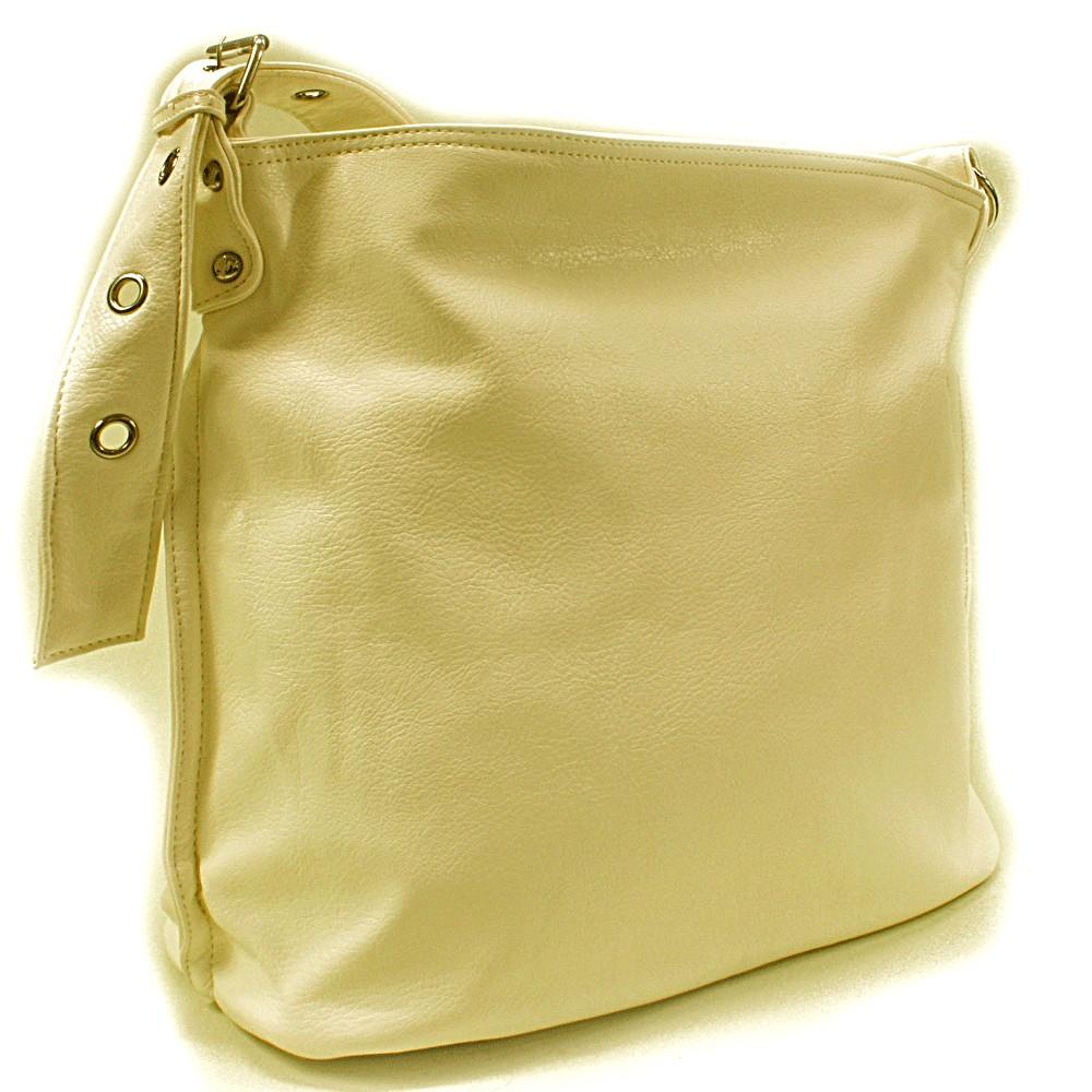 Světle béžová kabelka na rameno Shantelle