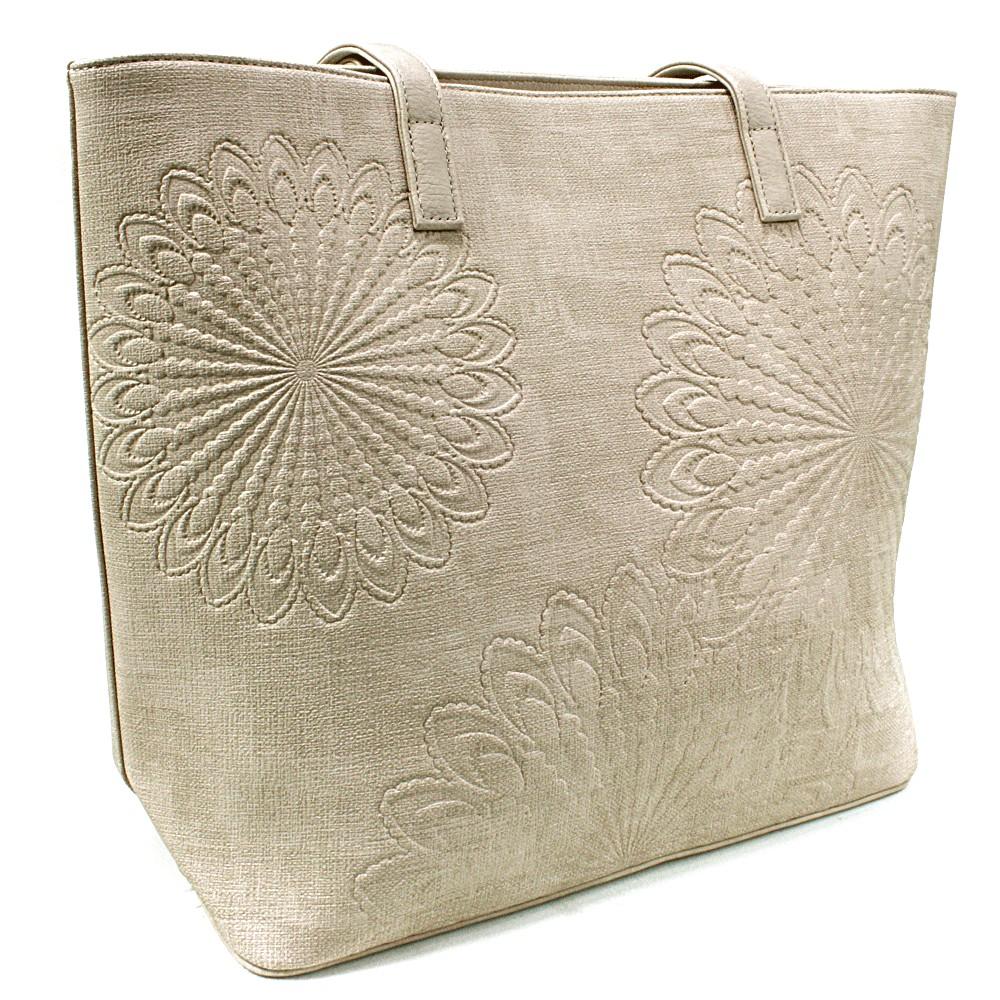 Béžová dámská kabelka do ruky i přes rameno Maiya
