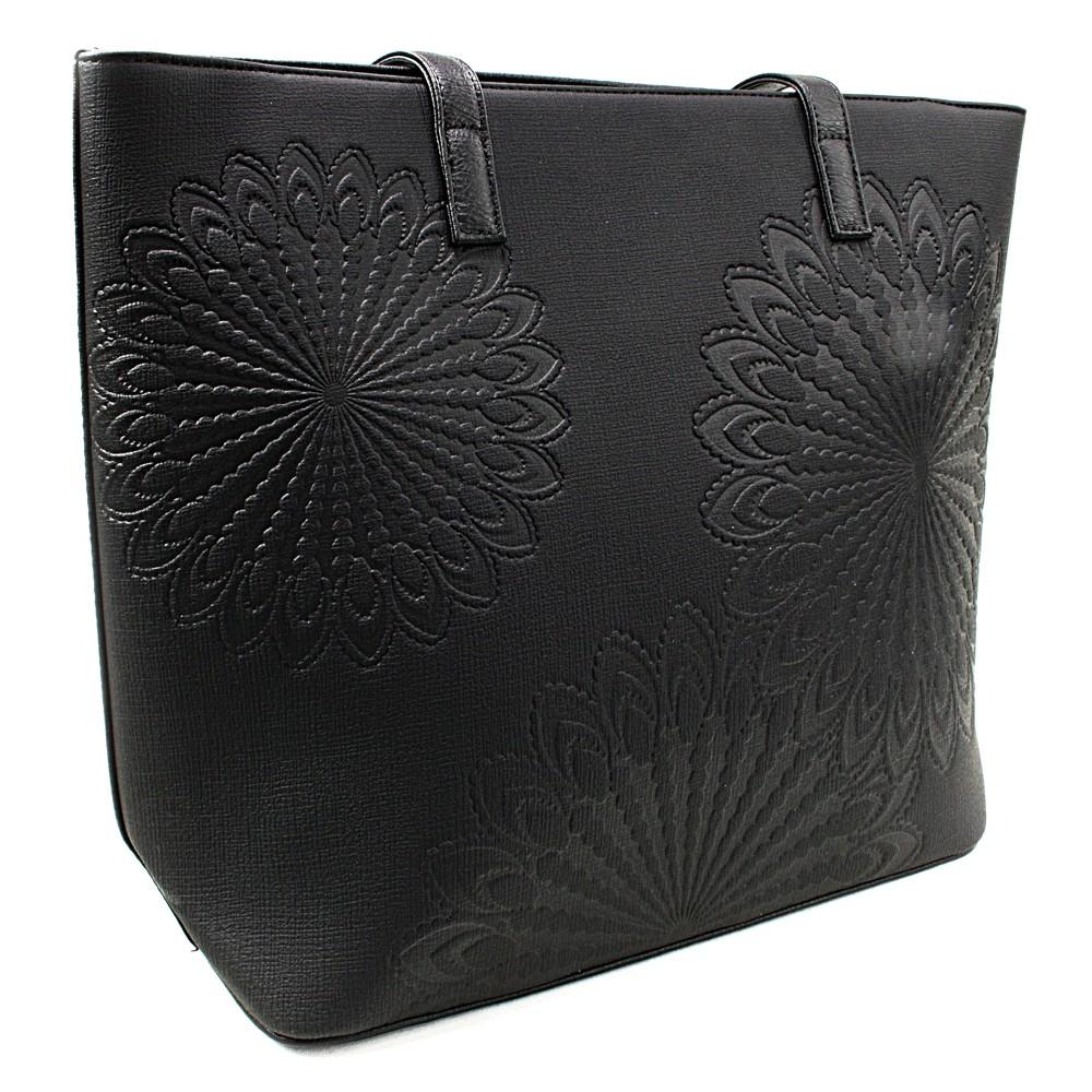 Černá dámská kabelka do ruky i přes rameno Maiya