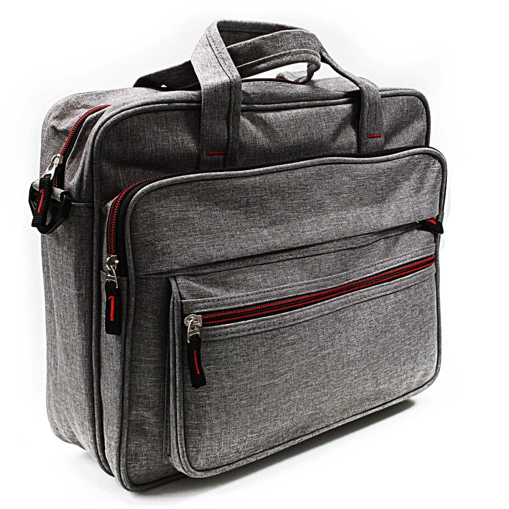 Tmavě šedá pánská příruční taška Royce