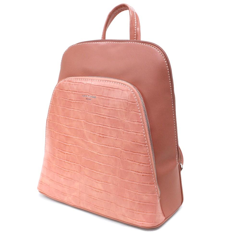 Růžový dámský módní batůžek Flo