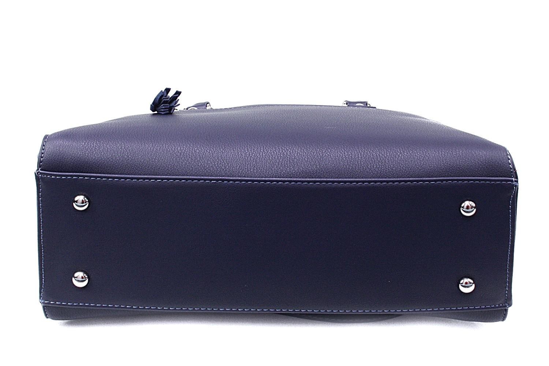 Tmavě modrá dámská kabelka do ruky Adlai