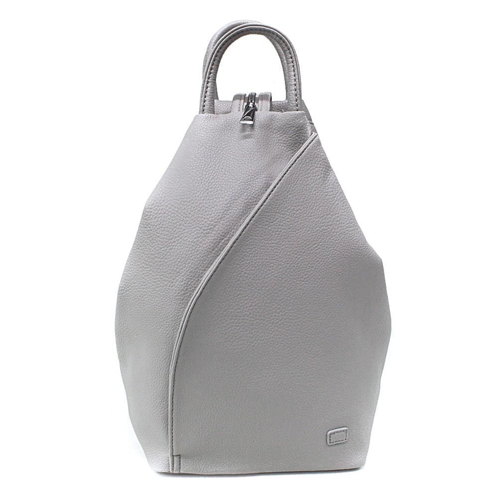 Světle šedý moderní dámský batoh Zastien