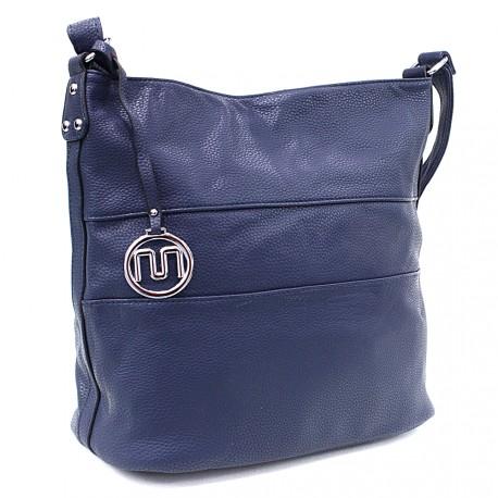 Modrá velká dámská kabelka Orlenda