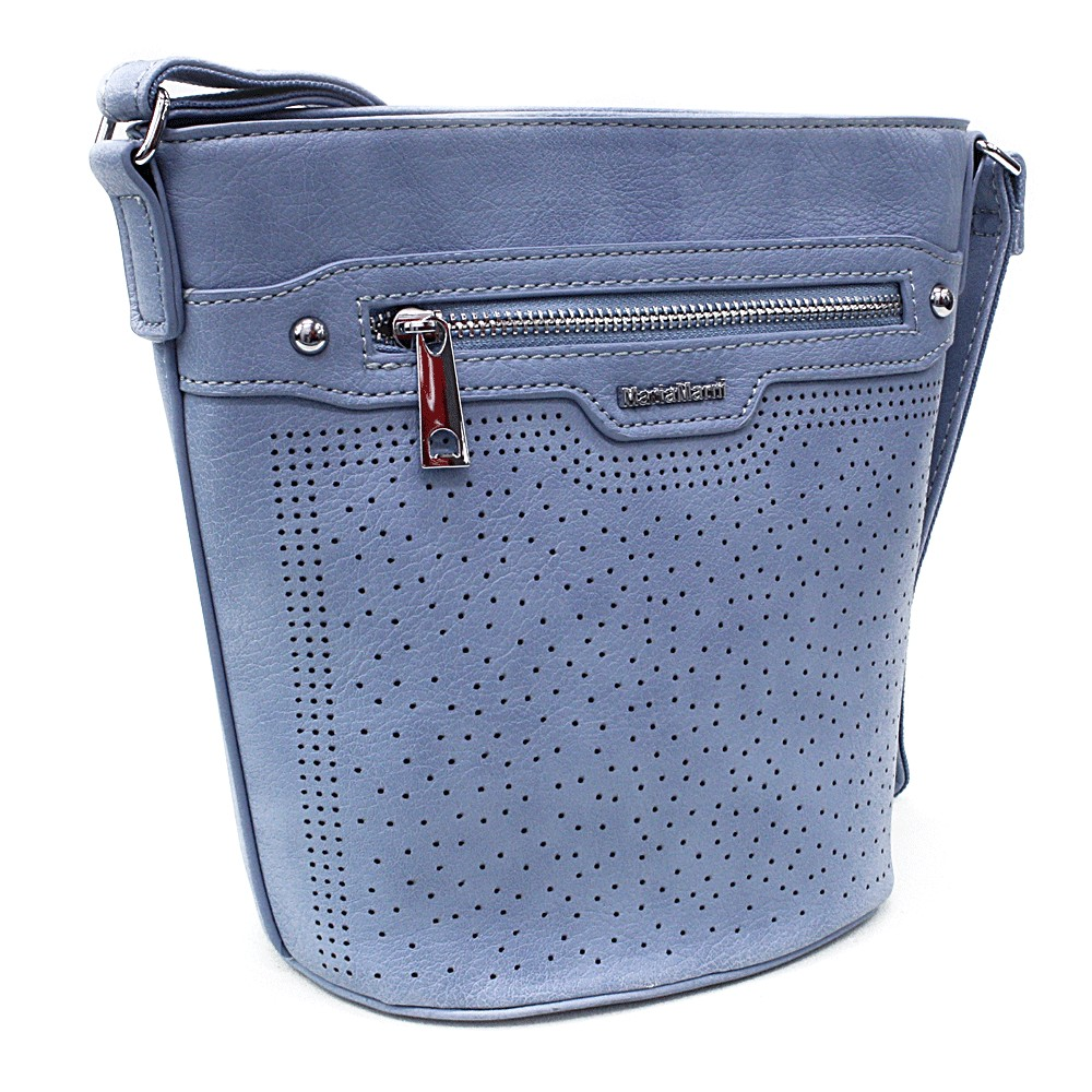 Blankytně modrá menší crossbody dámská kabelka Fernne