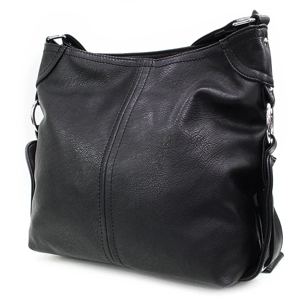 Černá velká dámská kabelka Devyn