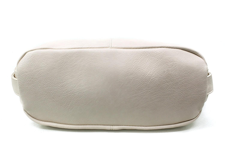 Světle béžová velká dámská kabelka Devyn