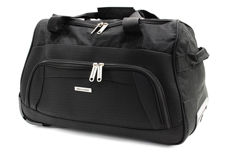 Černá větší cestovní látková taška Ewane
