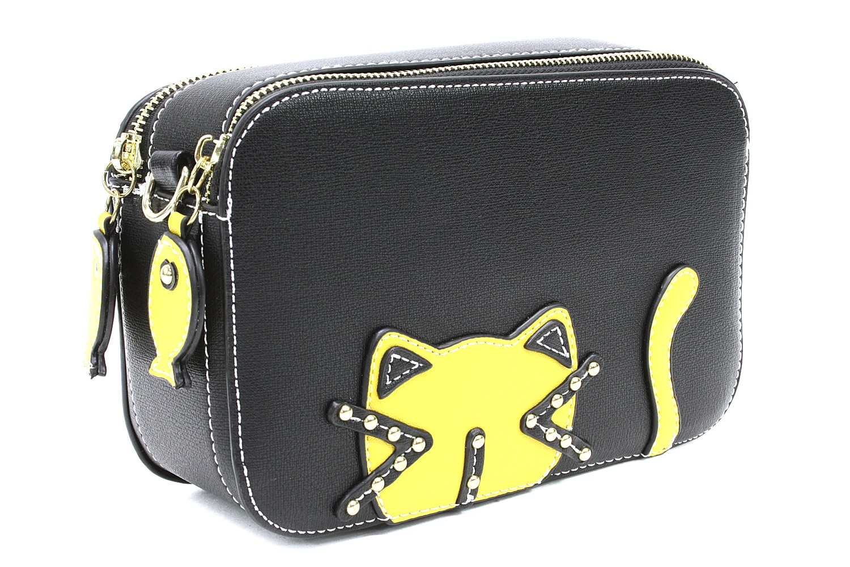Černožlutá originální dámská kabelka s motivem Alyiah